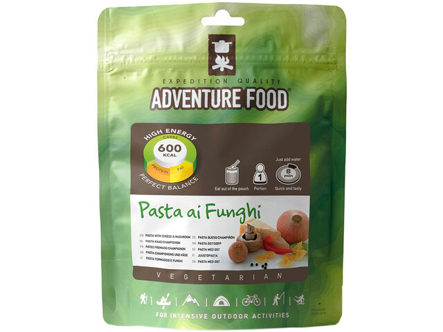 Adventure Food Outdoor Meal Vegetarian Single Portion Pasta ai Funghi